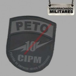 BRASÃO PETO 10º CIPM PM...