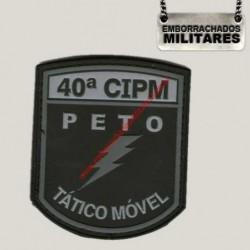BRASÃO PETO 40º CIPM PM...