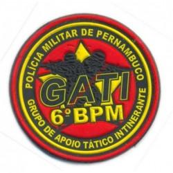 BRASÃO DE BRAÇO GATI  6º...