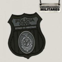 BRASÃO POLÍCIA CIVIL AM(PRETO)