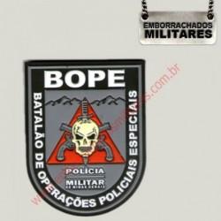 BRASÃO BOPE PMMG(COLORIDO)