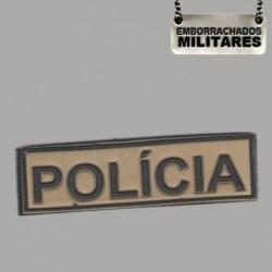 NOME TARJETA POLÍCIA(KAKI)