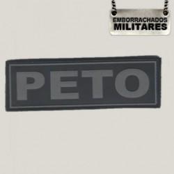 NOME PORTA TRECO PETO(GRAFITE)