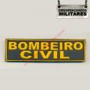 NOME TARJETA BOMBEIRO CIVIL(AMARELO)